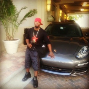 Cameen Just Arriving to Miami & his porsche Panamera waiting for him sponsored by Luxuria Motors Club
