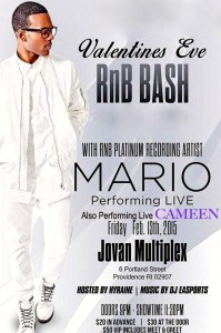 Cameen Opening act for Mario 2