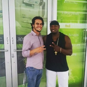 Cameen with new South Florida Rep Kris of MiamiMovementMagazine5:15:15