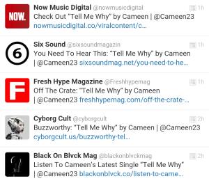 Five Magazine Features