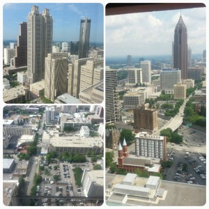 The view from my 47th floor room