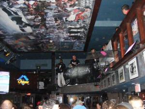 cameen performing at The greates bar-Boston