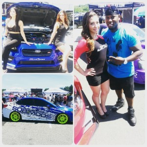 Cameen @ The @015 Subaru Car SHow Event