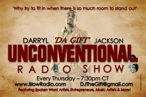 Cameen Interviews with Darryl host of Unconventional_Radio_Show_flyer
