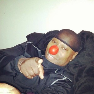 Cameen Participating in Red Nose Day 5:21:15