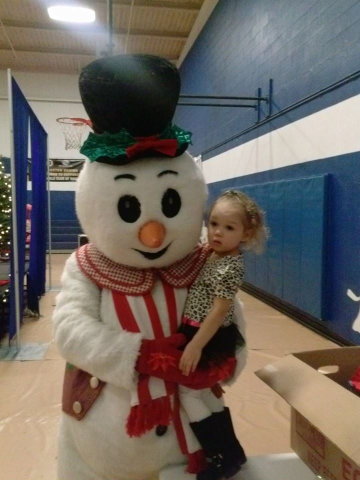Cameen-Chocolate Snowman 2013 Boys And Girls Club Tolles Street Mission