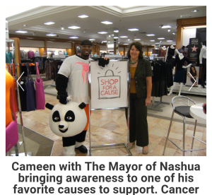 Cancer Event At Macy's With Nashua Mayor