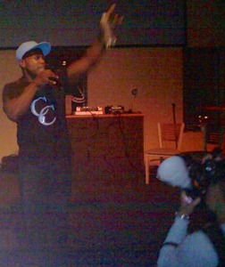 Cameen Performing at the Bently Event Hartford CT